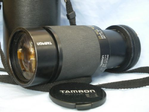 * 80-210mm* Tamron AD2 80-210MM 3.8-4 Zoom macro Lens Cased £7.99